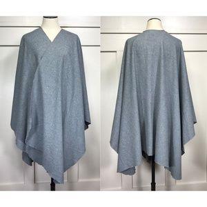 Vintage Harmal Wool Blend Blanket Cape